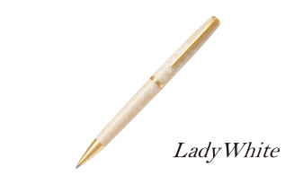 Lady White(レディホワイト)「油性ボールペン」
